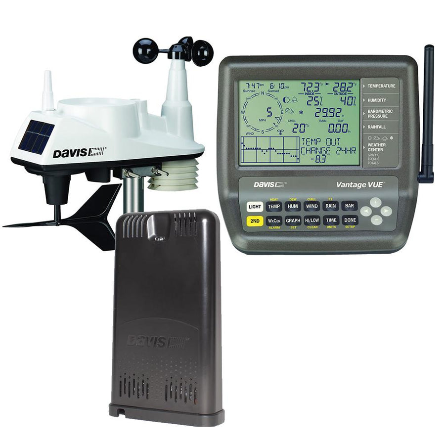 Davis Vantage Vue Weather Station WeatherLink Live [6120] - 10X Marine