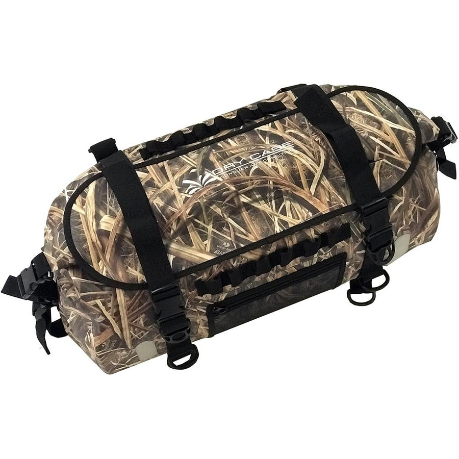 DryCASE The Forty Camo Shadow Grass Blades 40 Liter Waterproof Duffel-Backpack [BP-40-SGB] - 10X Marine