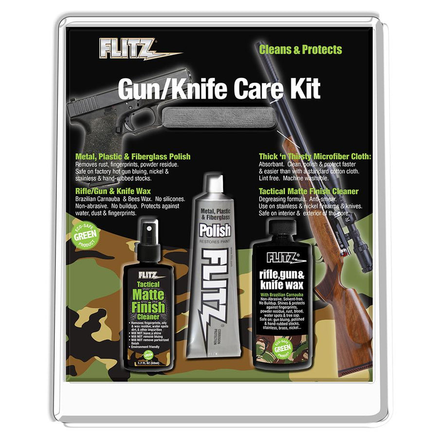 Flitz Knife & Gun Care Kit [KG 41501] - 10X Marine