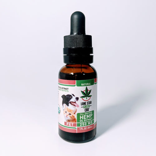 PET Tincture Oil 250MG 30ml