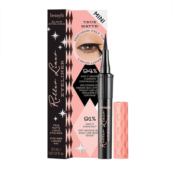Roller Liner Liquid Eyeliner Black (2 Sizes)