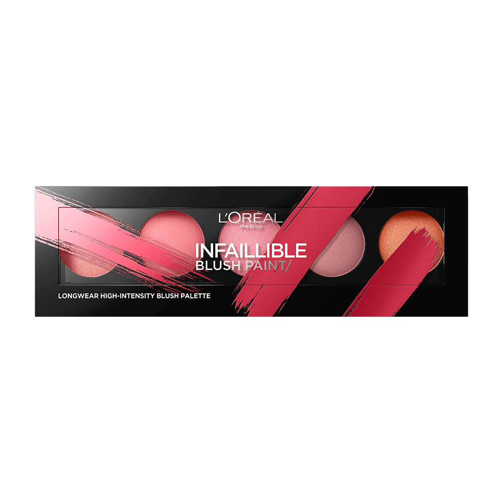 Infaillible Paint Long Lasting High Intensity Blush Palette 02 Amber blush L'Oreal Paris