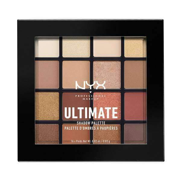 Ultimate Shadow Palette Eyeshadow NYX Professional Makeup Warm Neutrals