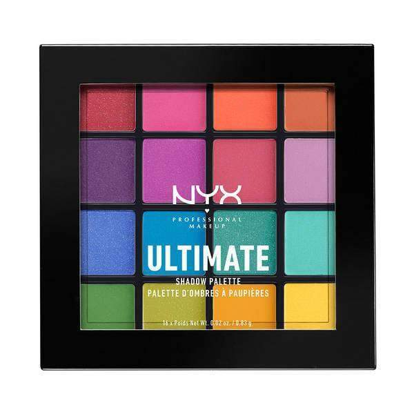 Ultimate Shadow Palette Eyeshadow NYX Professional Makeup Brights