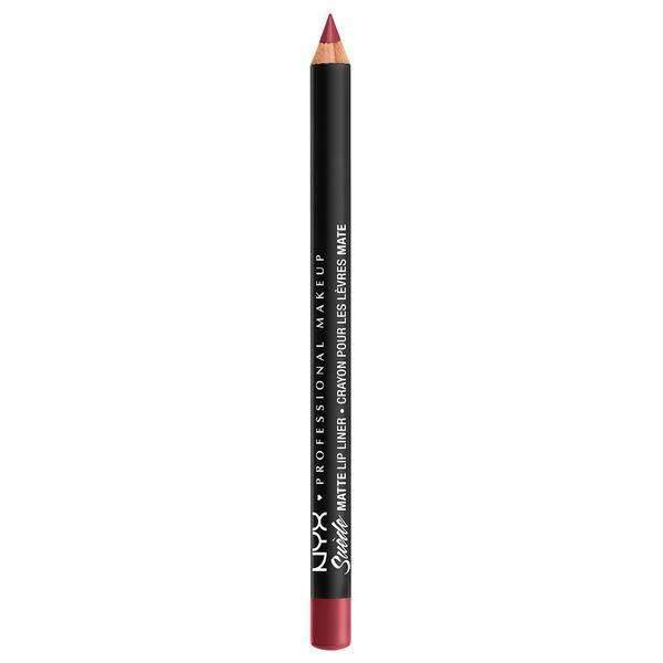 Suede Matte Lip Liner NYX Professional Makeup Cherry Skies.