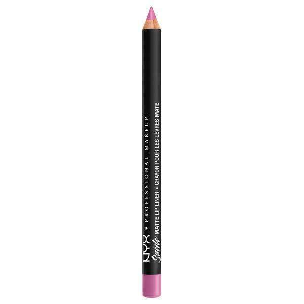Suede Matte Lip Liner NYX Professional Makeup Respect The Pink.