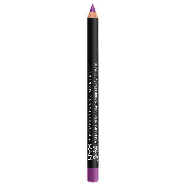 Suede Matte Lip Liner NYX Professional Makeup Run The World.