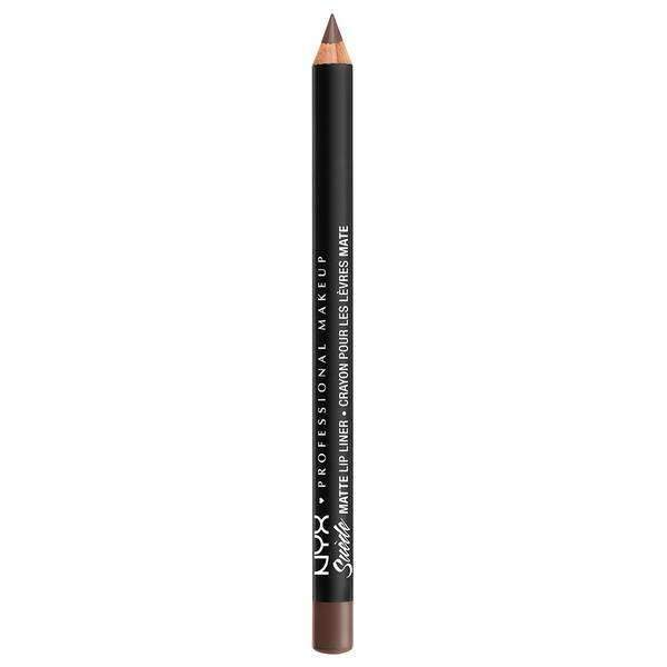 Suede Matte Lip Liner NYX Professional Makeup Brooklyn Thorn.