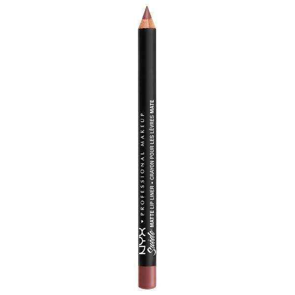 Suede Matte Lip Liner NYX Professional Makeup Whipped Caviar.