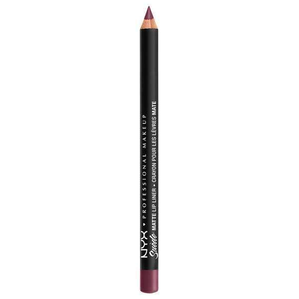 Suede Matte Lip Liner NYX Professional Makeup Prune.