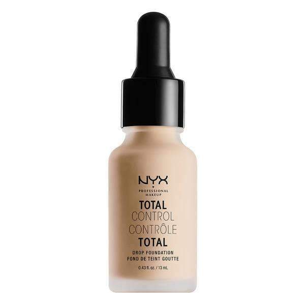 Total Control Drop Foundation Foundation NYX Professional Makeup Vanilla