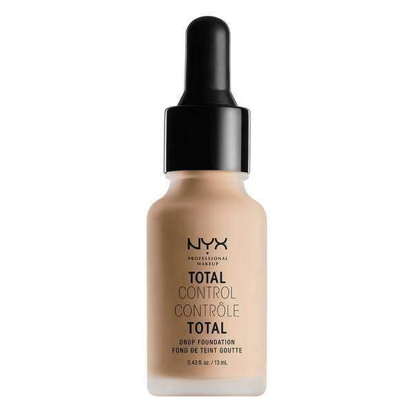 Total Control Drop Foundation Foundation NYX Professional Makeup Natural .