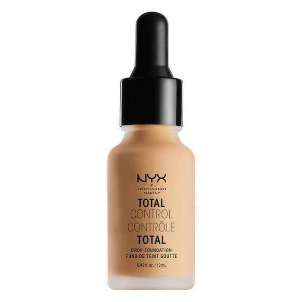 Total Control Drop Foundation Foundation NYX Professional Makeup True Beige