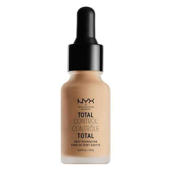 Total Control Drop Foundation Foundation NYX Professional Makeup Medium Olive