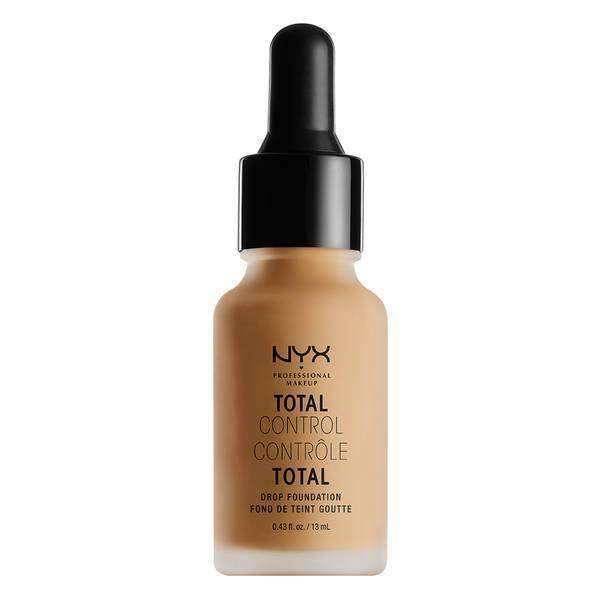 Total Control Drop Foundation Foundation NYX Professional Makeup Golden