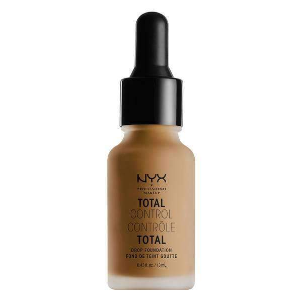 Total Control Drop Foundation Foundation NYX Professional Makeup Cappuccino .