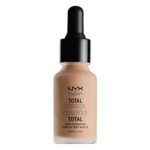 Total Control Drop Foundation Foundation NYX Professional Makeup Soft Beige