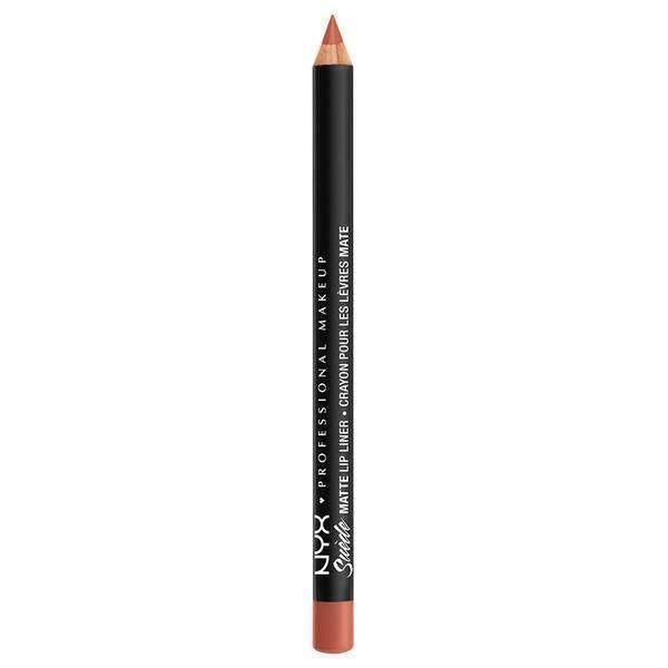 Suede Matte Lip Liner NYX Professional Makeup Rosé The Day.