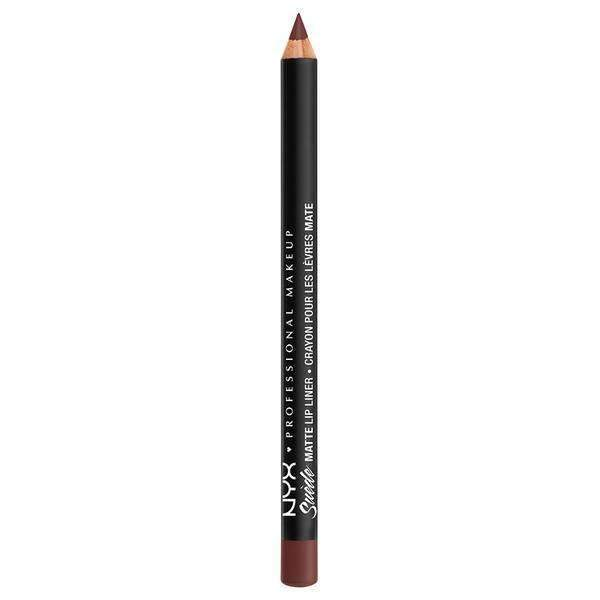 Suede Matte Lip Liner NYX Professional Makeup Cold Brew.