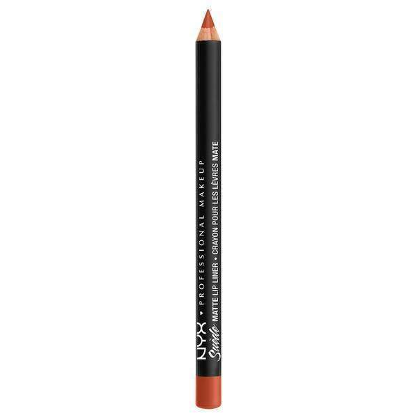 Suede Matte Lip Liner NYX Professional Makeup Peach Don't Kill My Vibe.