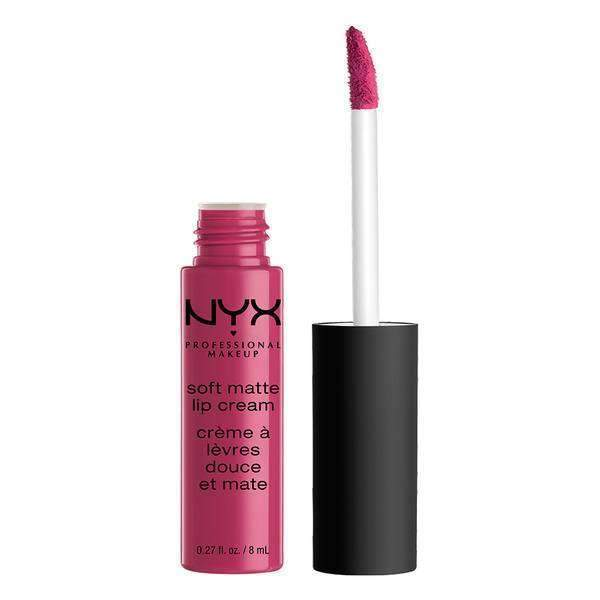 Soft Matte Lip Cream Lipstick NYX Professional Makeup Prague