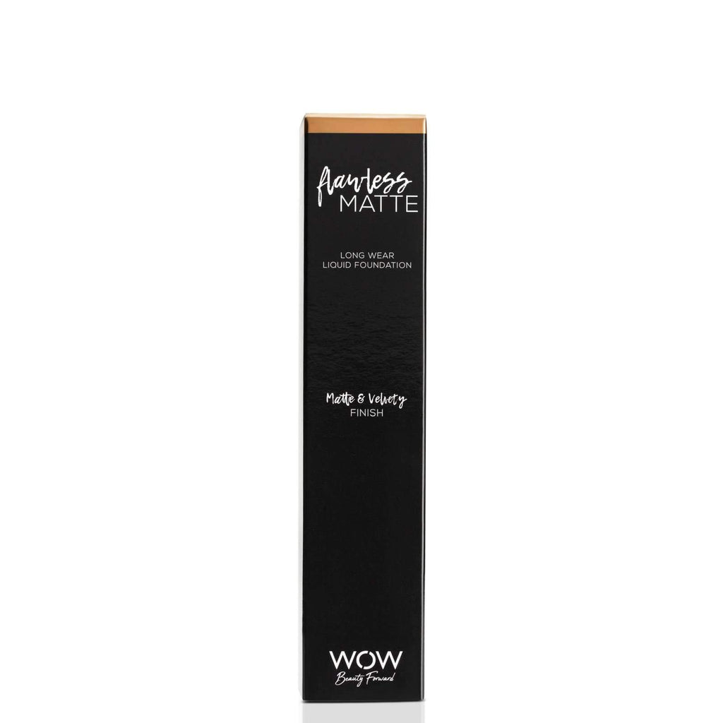 Flawless Matte - Long Wear Liquid Foundation Foundation WOW Beauty Forward