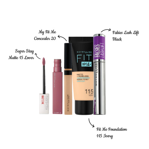 Revive The Beauty Of Ramadan - Foundation 115 + Concealer 20