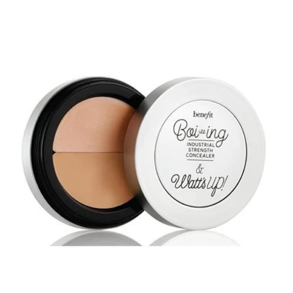 BOI-ING INDUSTRIAL STRENGTH 02 & WATT'S UP! Cream Highlighter - Mini Sizes Concealer Benefit Cosmetics