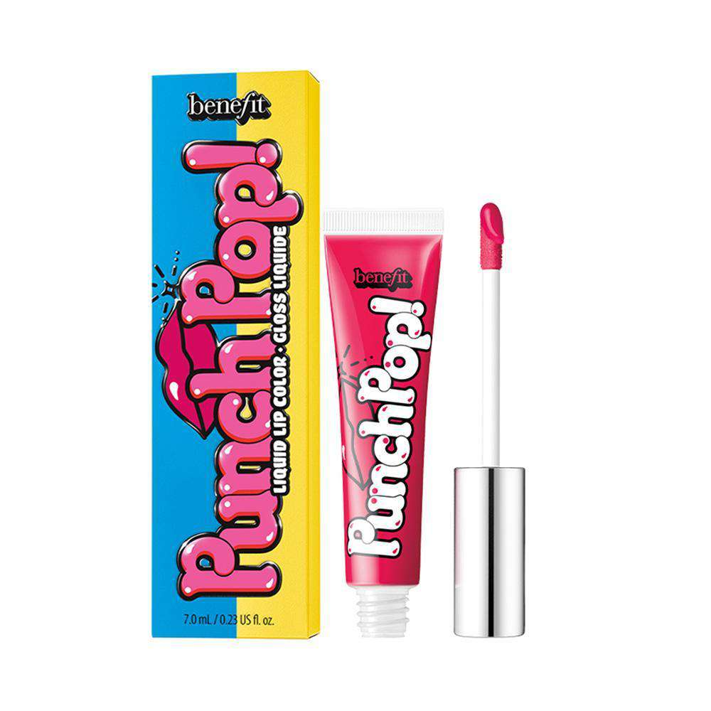 Punch Pop! Lip gloss Lipstick Benefit Cosmetics Cherry