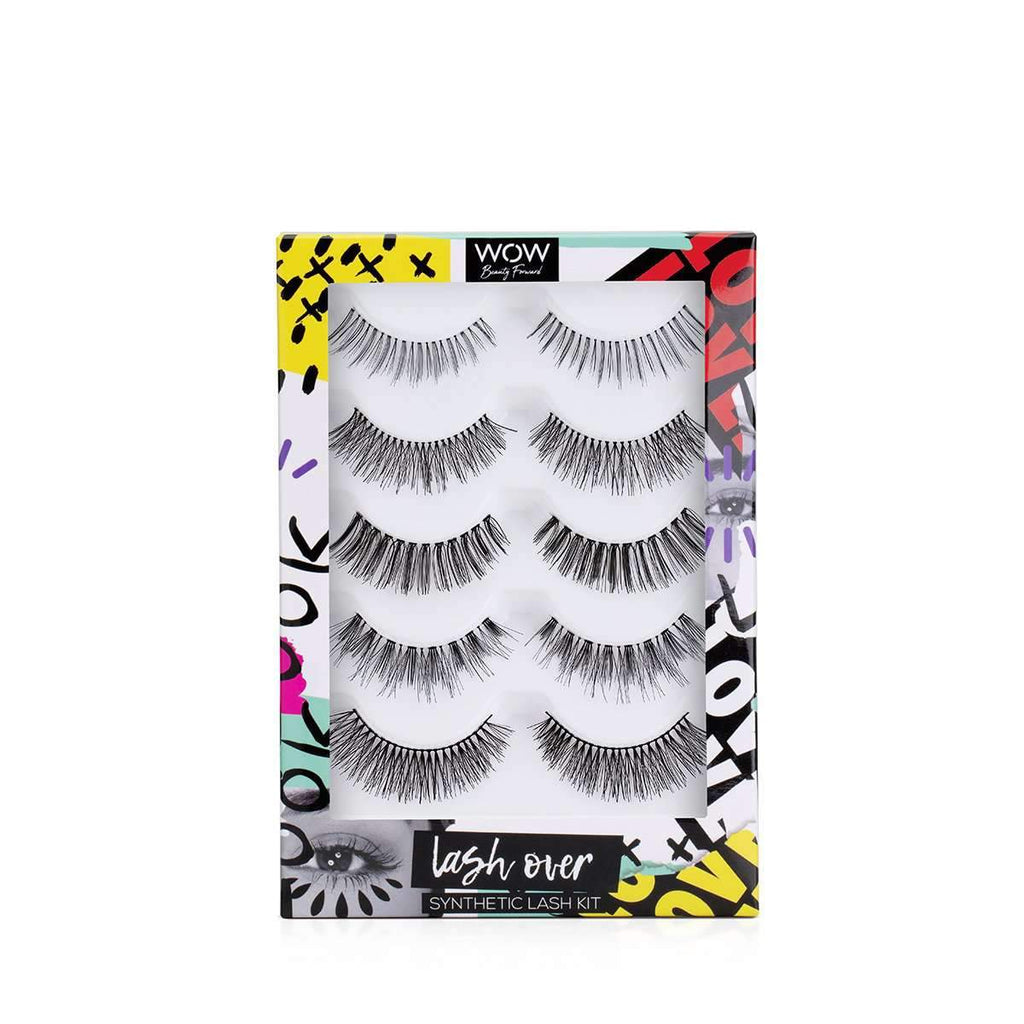 Lash Over - Synthetic Lash Kit Make Up Set WOW Beauty Forward