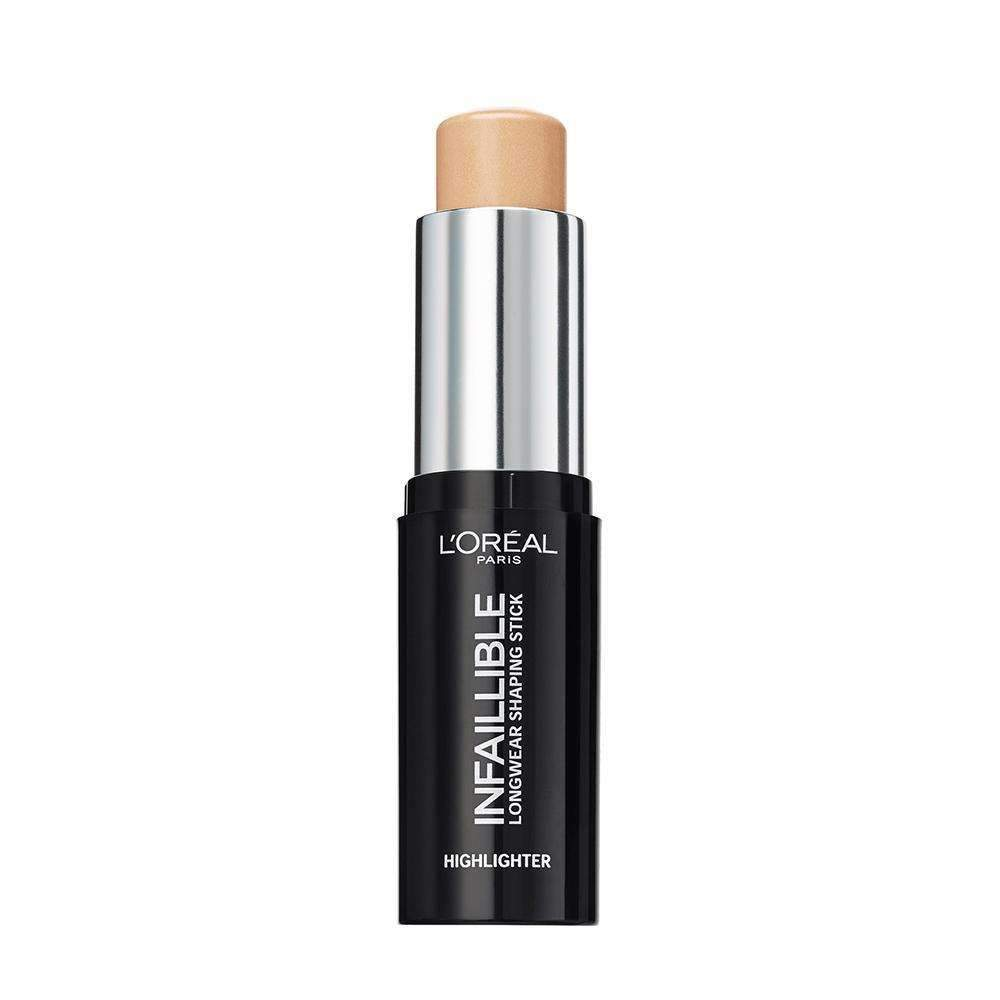 Infallible Highlighter Shaping Stick (3 Shades) Highlighter L'Oreal Paris 502 Gold Is Cold