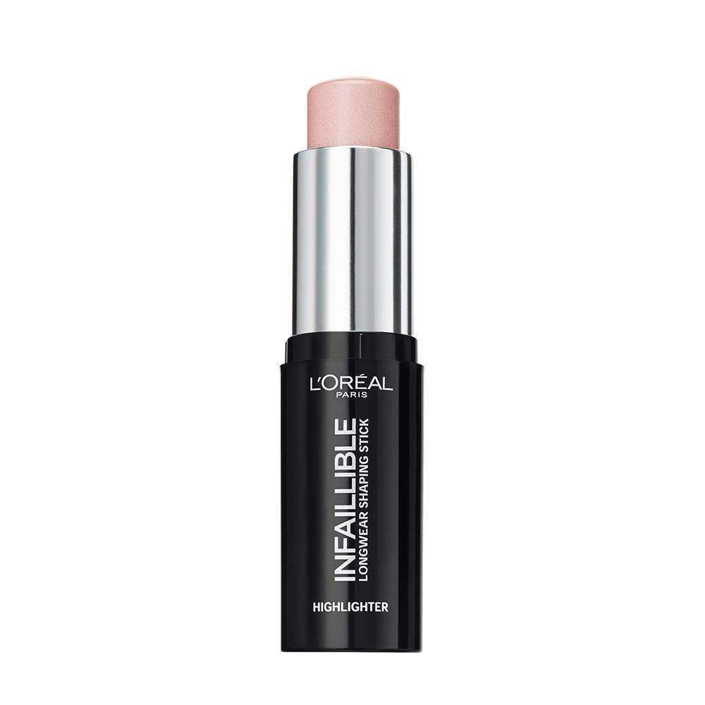 Infallible Highlighter Shaping Stick (3 Shades) Highlighter L'Oreal Paris 503 Slay In Rose