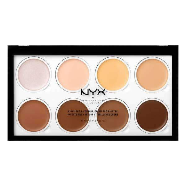 Highlight & Contour Cream Pro Palette Palette NYX Professional Makeup