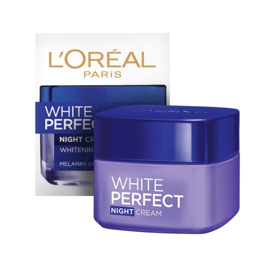 White Perfect Fairness Night Cream