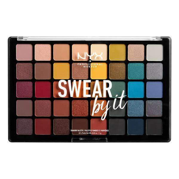 Swear By It Shadow Palette Eyeshadow NYX Professional Makeup