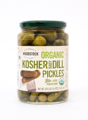Woodstock Farms Organic Kosher Baby Dill Pickles