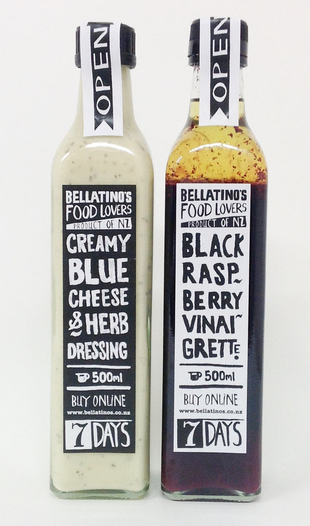 Bellatinos 500ml dressings