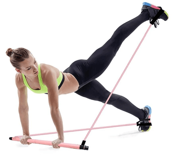 Kit Barre De Pilates Portable