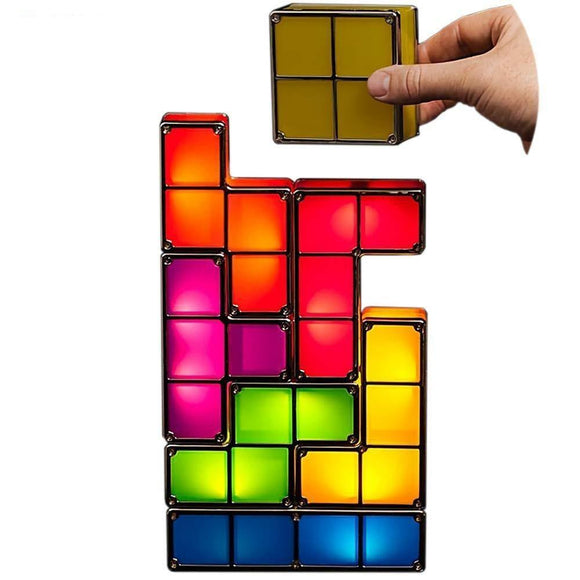 LAMPE CUBE TETRIS PUZZLE LIGHT