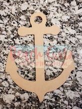 "Load image into Gallery viewer, Anchor-12"" wooden cutout"