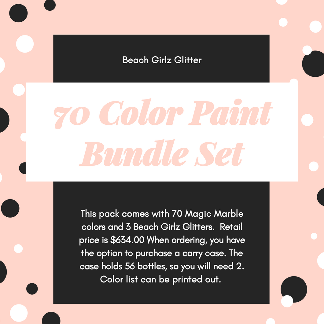 70 Color Bundle Pack