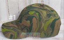 Load image into Gallery viewer, Camo Hat Collection