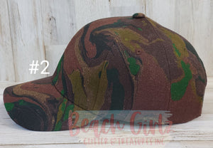 Camo Hat Collection