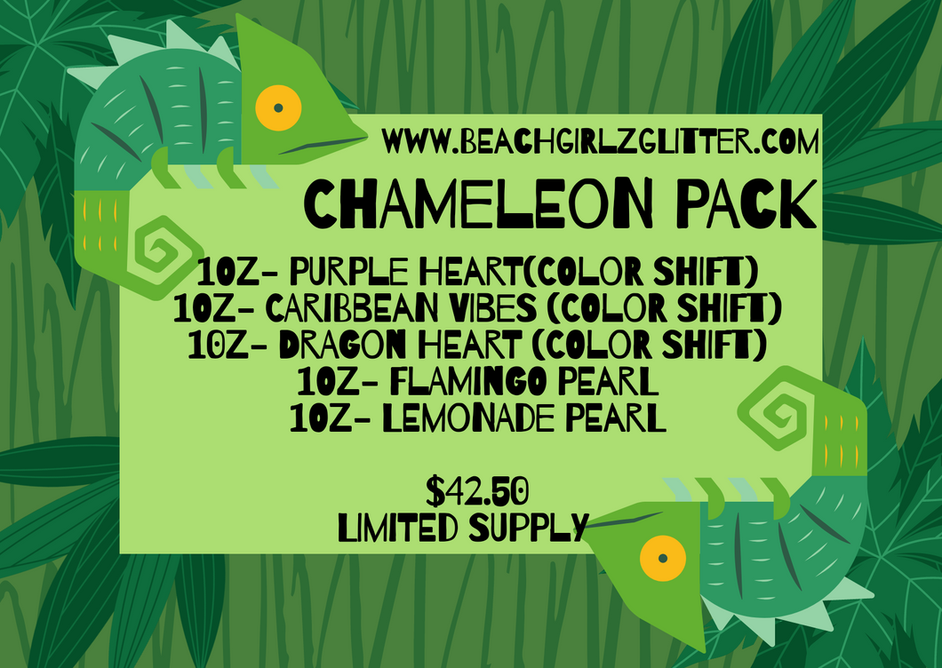 Chameleon Pack- LIMITED SUPPLY