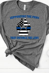 Paws that enforce the laws