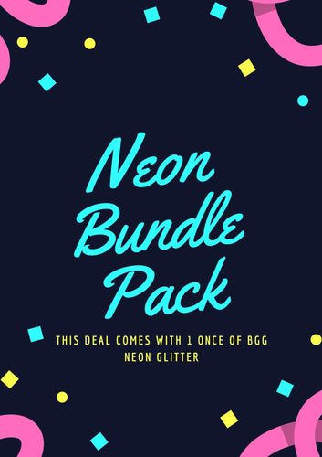 Magic Marble Paint-Neon Bundle Package- As of 5/4 we do NOT have a restock date