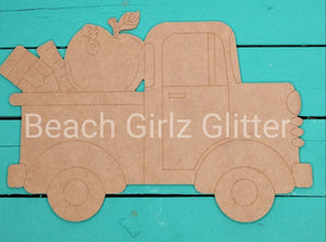 "14"" old style etched truck-teacher"