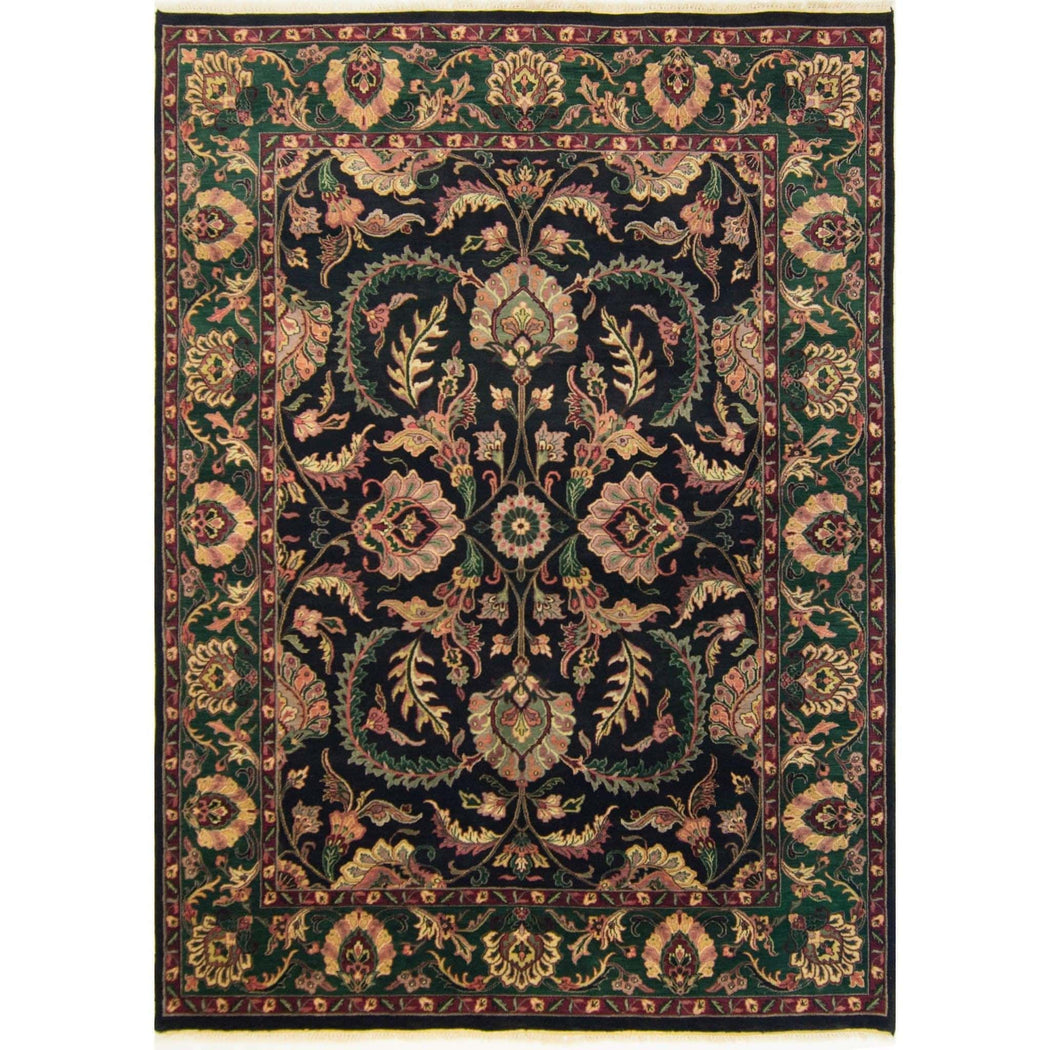 Hand-knotted William Morris Design Rug 234cm x 303cm - House Of Haghi