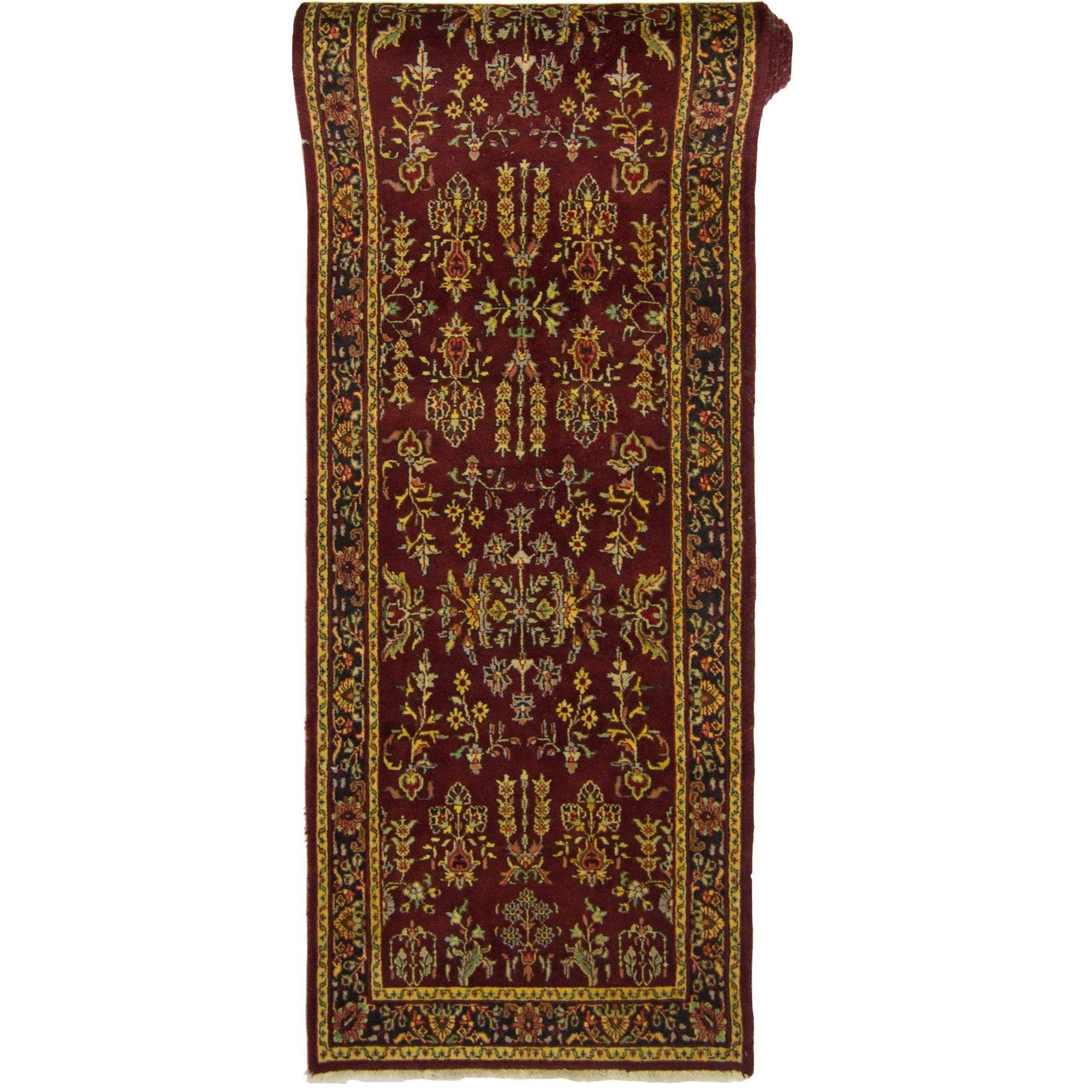 Fine Hand-knotted Persian Runner 76cm x 373cm Persian-Rug | House-of-Haghi | NewMarket | Auckland | NZ | Handmade Persian Rugs | Hand Knotted Persian Rugs