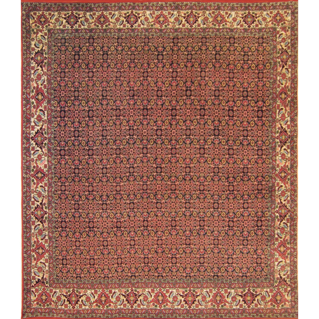 Super Fine Hand-knotted Persian Bijar Rug 246cm x 289cm - House Of Haghi